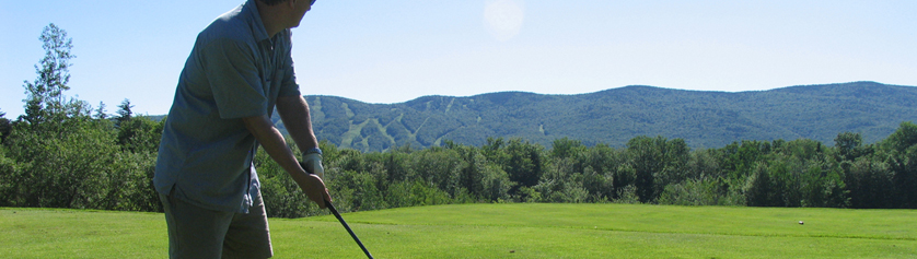 Shot from another great golf day at Mount Snow Golf Course
